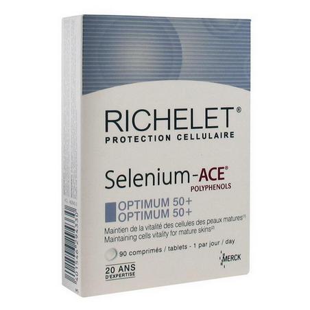 RICHELET SELENIUM ACE OPTIMUM 50+ 90 COMPRIMES MERCK