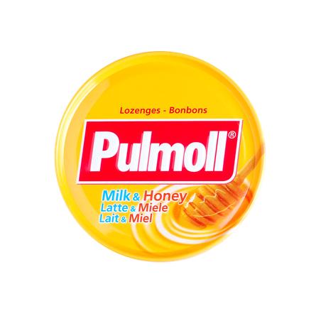 PULMOLL BONBONS LAIT et MIEL 75G