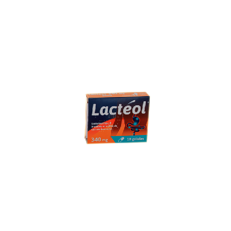 LACTEOL 340MG 10 GELULES APTALIS