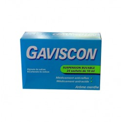 GAVISCON MENTHE SUSPENSION BUVABLE 24 SACHETS