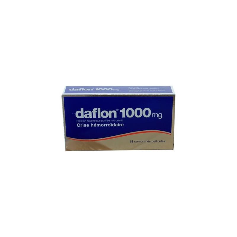 DAFLON 1000MG 18 COMPRIMES SERVIER