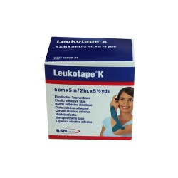 Leukotape® K Bleu 5cmx5m BSN MEDICAL