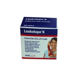 Leukotape® K Rouge 5cmx5m BSN MEDICAL