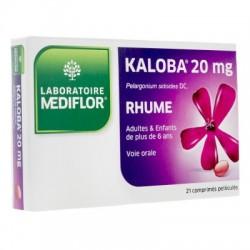 KALOBA 20MG RHUME 21 COMPRIMES MEDIFLOR