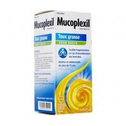 MUCOPLEXIL TOUX GRASSE SANS SUCRE 250ML SANOFI