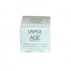 AGE PROTECT CREME NUIT PEELING MULTI ACTIONS 50ML URIAGE