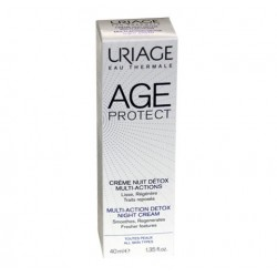AGE PROTECT CREME NUIT DETOX MULTI ACTIONS 40ML URIAGE