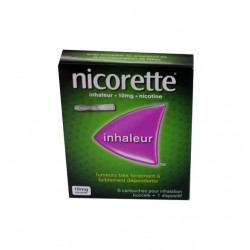 NICORETTE INHALATEUR 10MG JOHNSON & JOHNSON