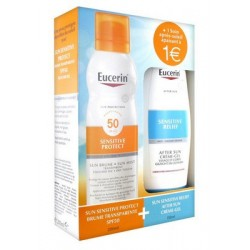 COFFRET SENSITIVE PROTECT BRUME 200ML + SENSITIVE RELIEF AFTER SUN 150ML EUCERIN