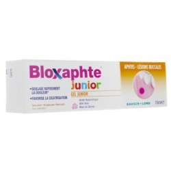 BLOXAPHTE GEL JUNIOR 15ML BAUSH & LOMB