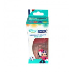 BIBERON ANTI COLIQUE DISNEY BABY MINNIE 0-6mois 150ML DODIE
