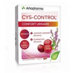 CYS CONTROL CONFORT URINAIRE 20 GELULES ARKOPHARMA