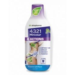 4321 MINCEUR 4 ACTIONS PROGRAMME 14 JOURS CASSIS ARKOPHARMA