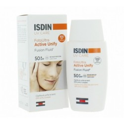 UV CARE FOTOULTRA  ACTIVE UNIFY FUSION FLUID SPF50+ 50ML ISDIN