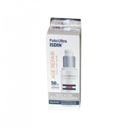UV CARE FOTOULTRA  AGE REPAIR FUSION WATER TEXTURE SPF50+ 50ML ISDIN