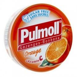 PULMOLL ORANGE + VITAMINE C PASTILLES SANS SUCRE 45G
