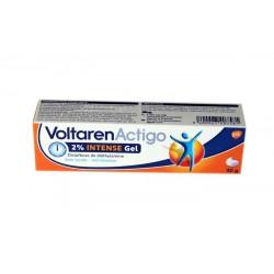 VOLTARENACTIGO 2% INTENSE GEL 30 G NOVARTIS
