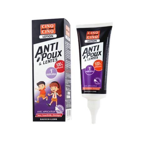 CINQ SUR CINQ LOTION ANTI POUX & LENTES 100ML BAUSH + LOMB