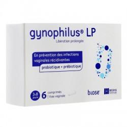 GYNOPHILUS LP VOIE VAGINALE 6 COMPRIMES BESINS HEALTHCARE