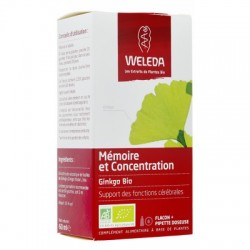 GINKGO BIO MEMOIRE & CONCENTRATION 60ML WELEDA