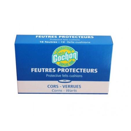 FEUTRES PROTECTEURS M.O COCHON CORS VERRUES TRADIPHAR