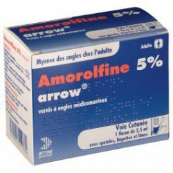 AMOROLFINE ARROW 5% 2.5ML