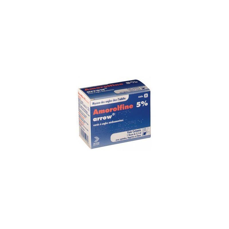 AMOROLFINE ARROW 5% 2.5ML