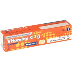 VITAMINE C ARROW 1G 20 COMPRIMES EFFERVESCENTS