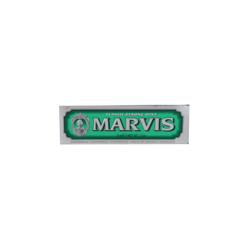DENTIFRICE STRONG MINT 25ML MARVIS