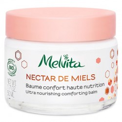 NECTAR DE MIELS BAUME CONFORT HAUTE NUTRITION VISAGE BIO 50ML MELVITA