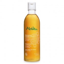 SHAMPOOING LAVAGES FREQUENTS PAMPLEMOUSSE et MIEL 200ML MELVITA