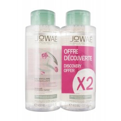EAU MICELLAIRE DEMAQUILLANTE LOT DE 2 X 400ML JOWAE