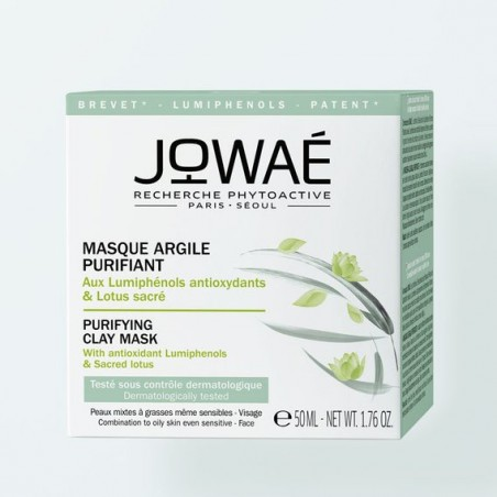 MASQUE ARGILE PURIFIANT 50ML JOWAE