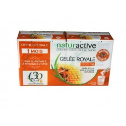 GELEE ROYALE 1500mg lot de 2x15 STICKS à DILUER NATURACTIVE