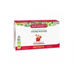 VIGNE ROUGE CIRCULATION BIO 20 AMPOULES SUPER DIET