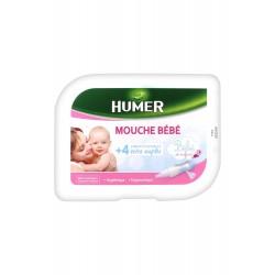 MOUCHE BÉBÉ + 4 EMBOUTS JETABLES HUMER