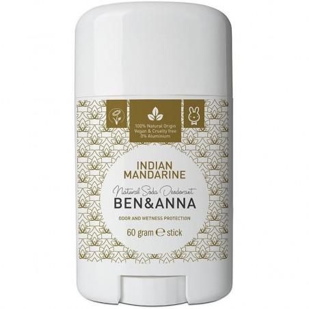 DEODORANT INDIAN MANDARINE STICK 60G BEN & ANNA