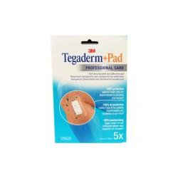 TEGADERM + PAD PANSEMENTS STERILES 9X10CM X5 3M