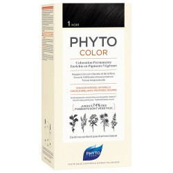PHYTOCOLOR COLORATION PERMANENTE NOIR 1 PHYTO