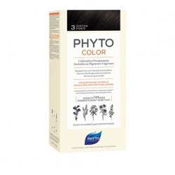 PHYTOCOLOR COLORATION PERMANENTE CHATAIN FONCÉ 3 PHYTO