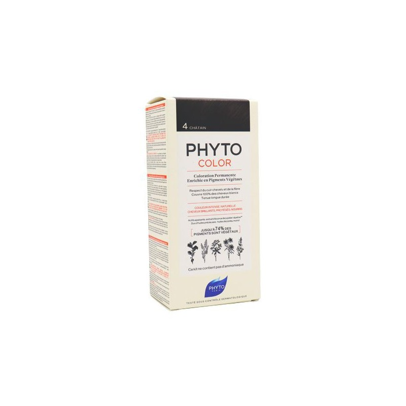 PHYTOCOLOR CHATAIN 4 PHYTO
