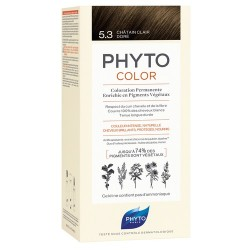 PHYTOCOLOR COLORATION PERMANENTE CHATAIN MARRON PROFOND 4.77 PHYTO