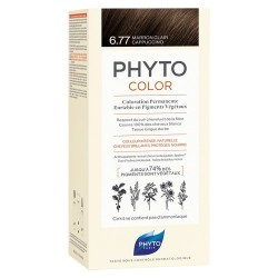 PHYTOCOLOR COLORATION PERMANENTE BLOND FONCÉ MARRON 6.7 PHYTO