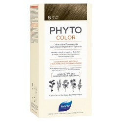 PHYTOCOLOR COLORATION PERMANENTE BLOND CLAIR 8 PHYTO