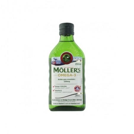 MOLLER'S OMEGA 3 ACIDES GRAS ESSENTIELS 1200MG NATURE 250ML