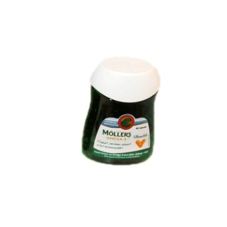 MOLLER'S OMEGA 3 DOUBLE 60 CAPSULES