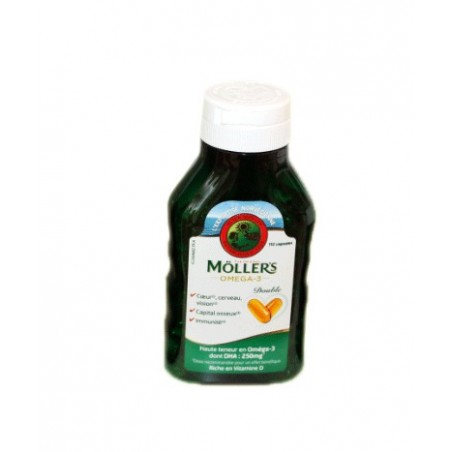 MOLLER'S OMEGA 3 DOUBLE 112 CAPSULES