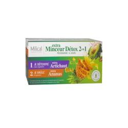 EXTRA MINCEUR DETOX 2 EN 1-140ML MILICAL