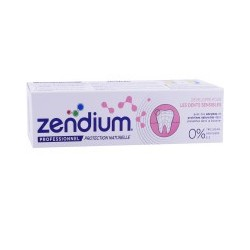DENTIFRICE DENTS SENSIBLES 75ML ZENDIUM PROFESSIONNEL
