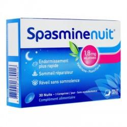 SPASMINE NUIT 1.8 MG MELATONINE 30 COMPRIMES JOLLY JATEL